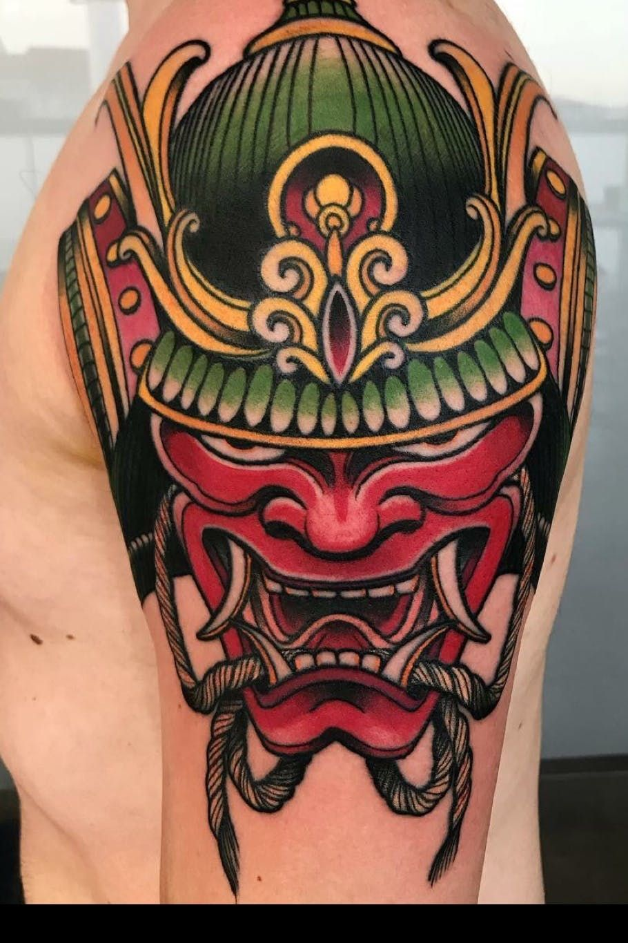 101 Amazing Samurai Mask Tattoo Ideas That Will Blow Your
