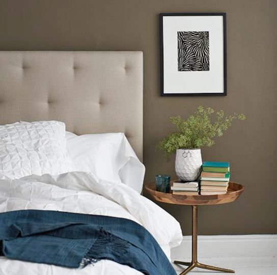"""Taupe Painted Rooms Grey Taupe Bedroom Paint Color Gray: A Brown With A Little Gray: """"Fairview Taupe"""" HC-85"""