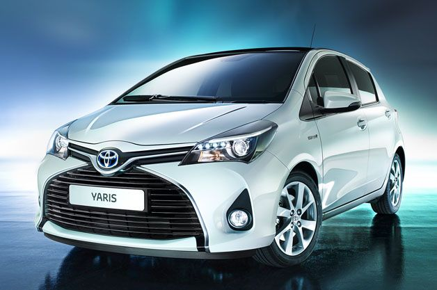 Toyota Launches Updated Yaris In Europe Vitz In Japan W Videos Autoblog Yaris Toyota Cars Toyota