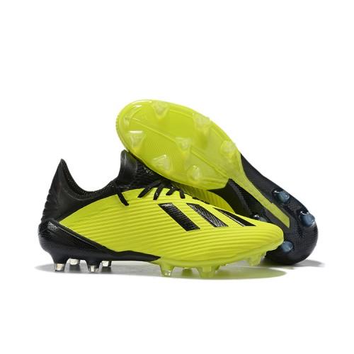 Adidas X 19 1 Fg Green Black 39 45 Adidas Adidas Football Green
