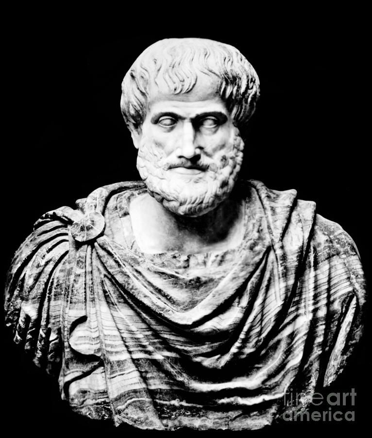 Aristotle Ancient Greek Philosopher Tatoo