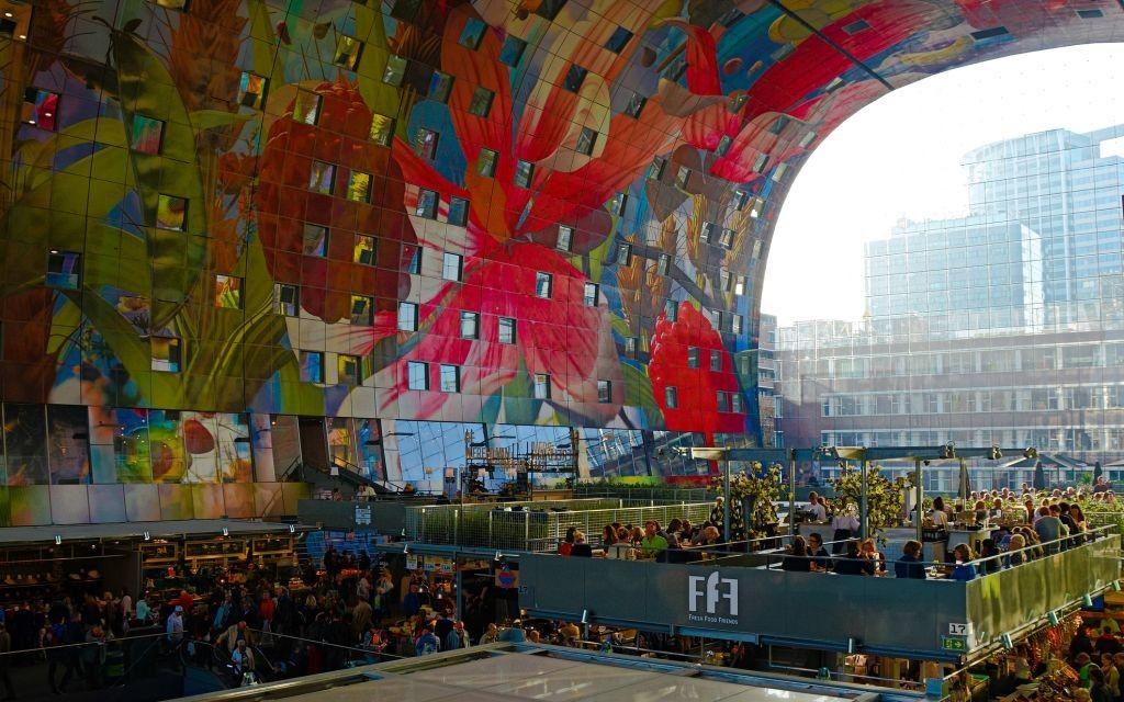 Markthal Rotterdam Fabulous Food Halls Pinterest