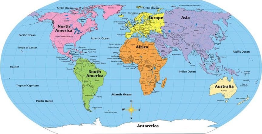 Map Of The World With Equator Picture 25 free vector world ...