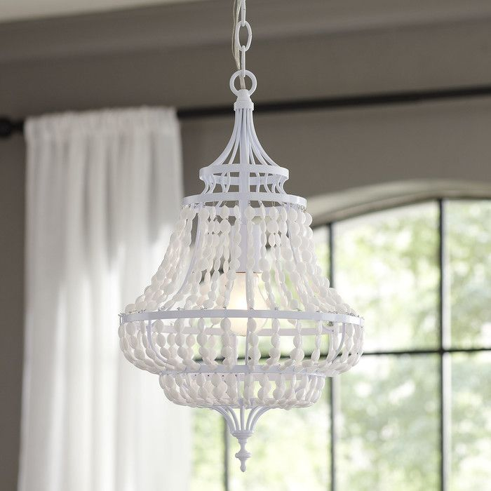 Birch lane fanning 1 light chandelier reviews birch lane