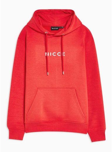 96dc01b083 Mens Nicce Red Original Logo Hoodie in 2019