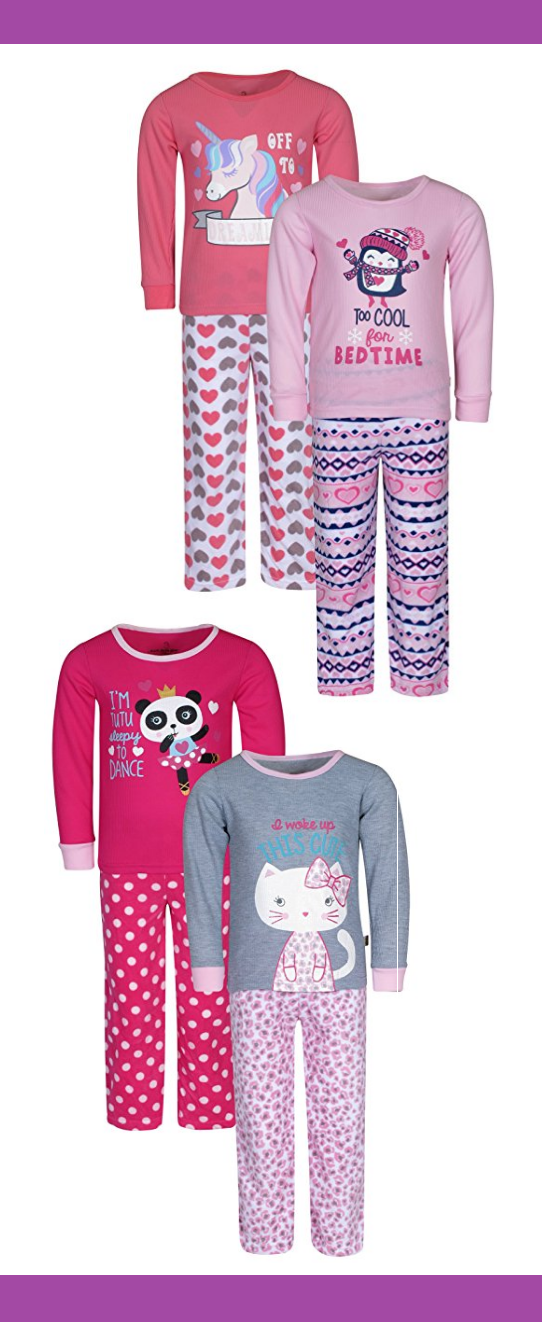 83f17da02c1a CUTE GIRLS PJ SETS   Duck Duck Goose Infant   Toddler Girls  2 Pack ...