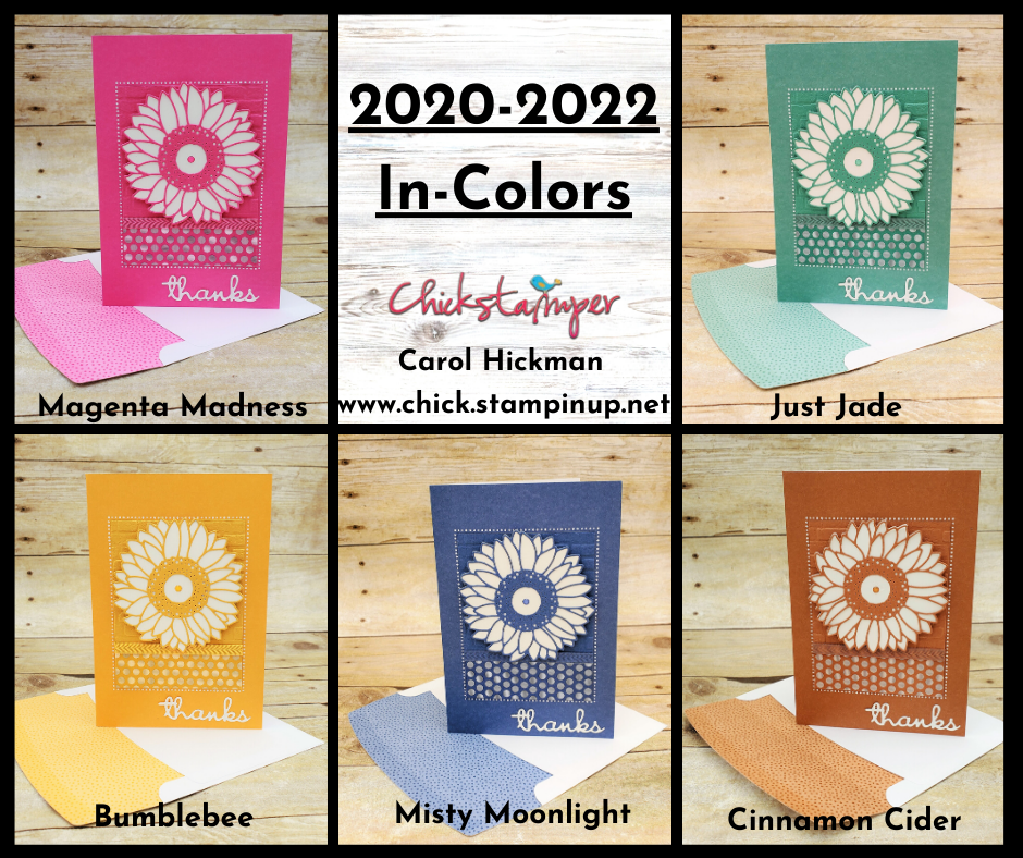 Pin on Stampin' Up! 20202022 In Colors
