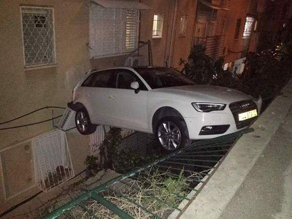 Accidente de un coche
