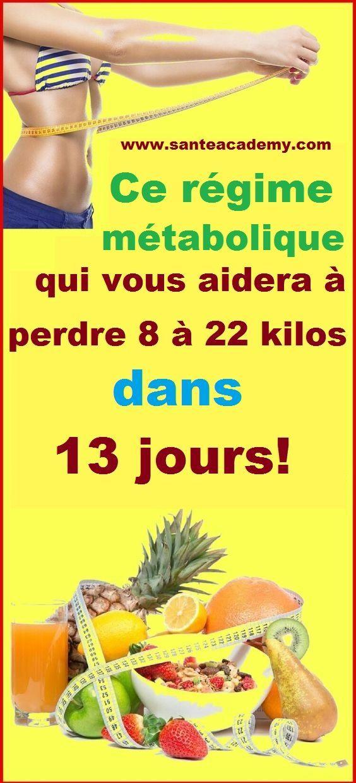 Ce régime métabolique qui vous aidera à perdre 8 à 22 ...