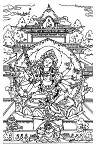 Coloring Adult Shiva Adult Coloring Pages Coloring Pages Adult
