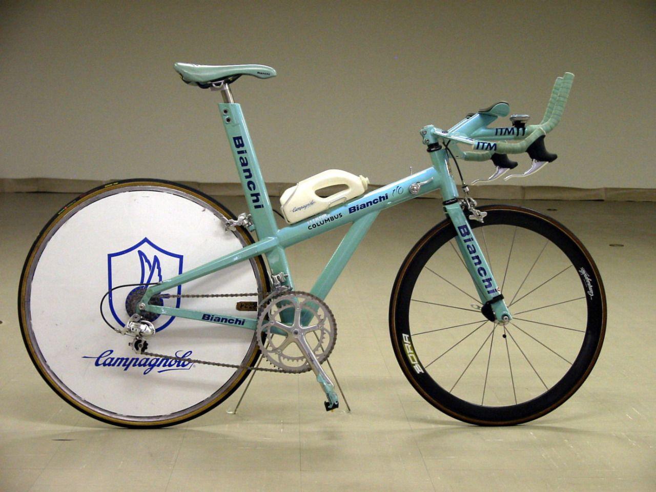 5f1e4c88a83 Evgueni Berzin's Bianchi (1997) Titanium Bike, Vintage Bicycles, Retro  Bicycle, Old