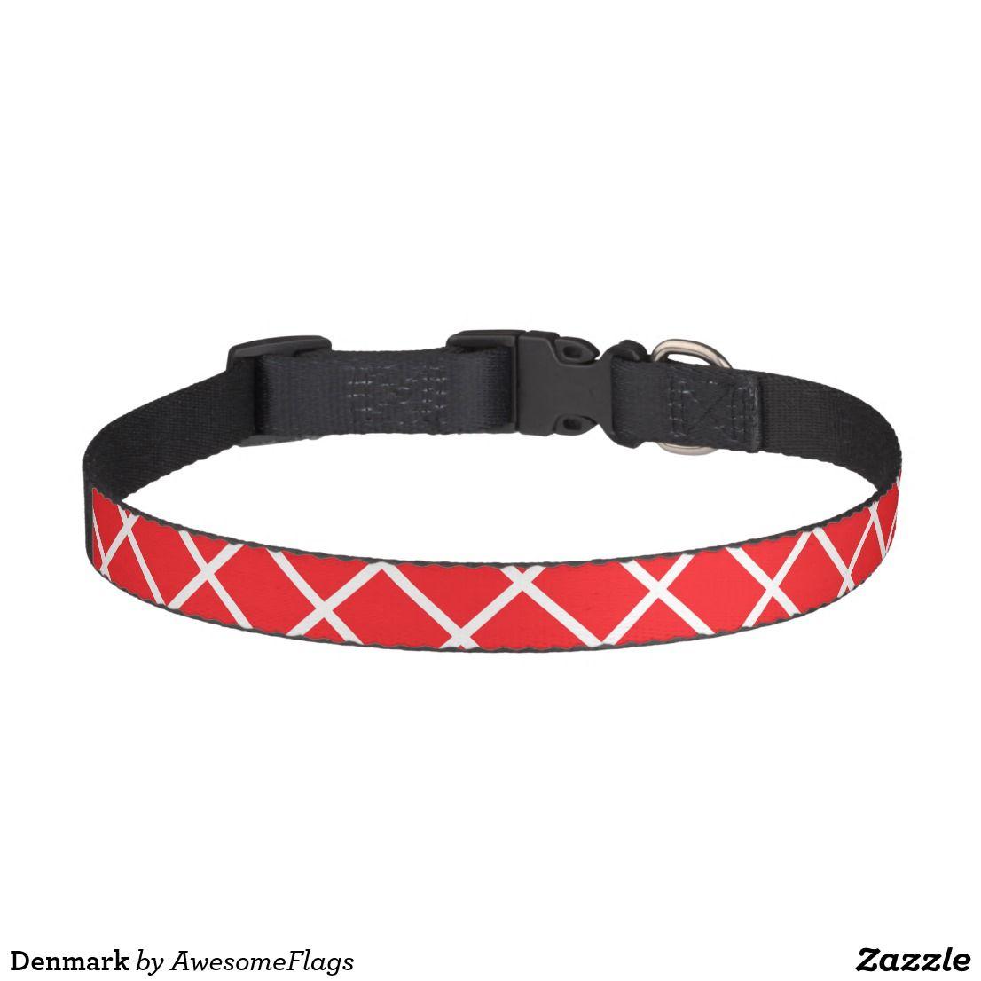 Denmark Pet Collar Zazzle.co.uk Pet collars, Pets