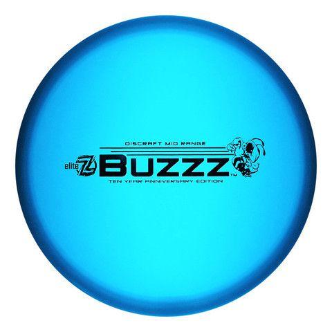 Discraft Limited Edition 10 Year Anniversary Buzzz Disc Golf Mid Range Full Flight Disc Golf Disc Golf 10 Year Anniversary Disc