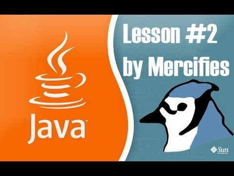 Learning Java: #2 - Let's use some Variables