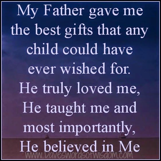 Wisdomtoinspirethesoul com: My Father,he might not be here