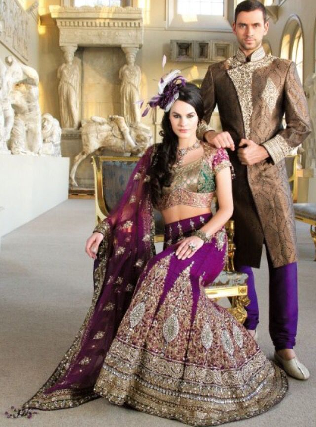 Mehndi Outfit Bride And Groom