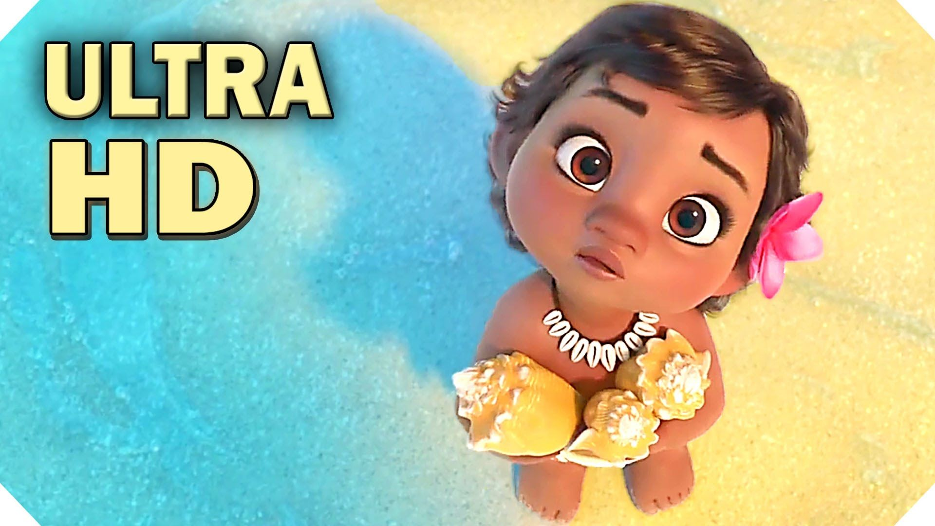 Disneys Moana International Trailer With Adorable Baby