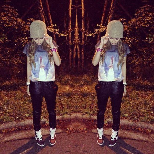 "Late Night Shooting Of ""Zapped"" For Zendaya September 6"