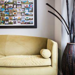 contemporary family room by Becki Peckham