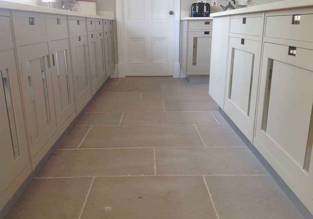 Luberon limestone flooring | Terres | Pinterest | Beige kitchen ...