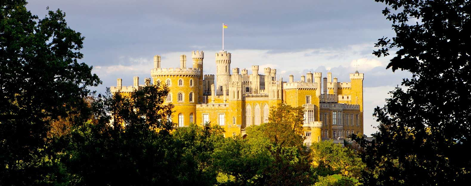 Belvoir castle leicestershire england i chose this picture