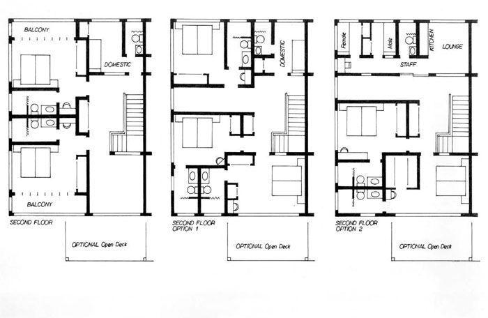 3 story duplex floor plans