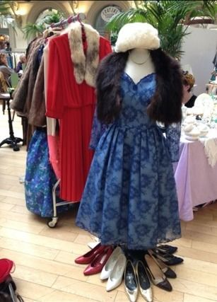 Original 1950's 'Susan Small' & 1980's 'Gina Bacconi' dresses taking centre stage!