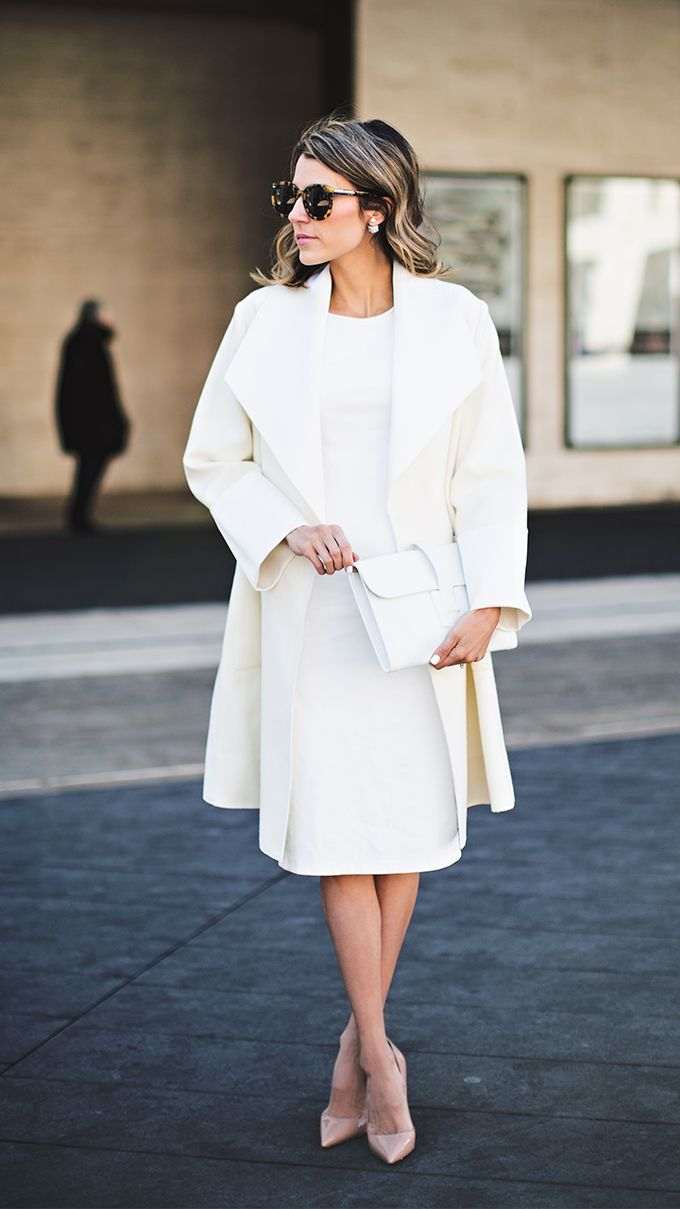 a8a6667d3f89 Monochromatic White Nude Heels, Classy Chic, Classy Style, Stay Classy,  White Outfits
