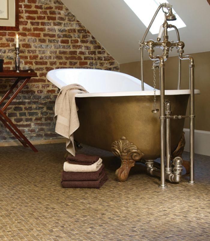 bodenbelag bad bodenfliesen mosaikfliesen ziegelwand Badezimmer - dekoration für badezimmer
