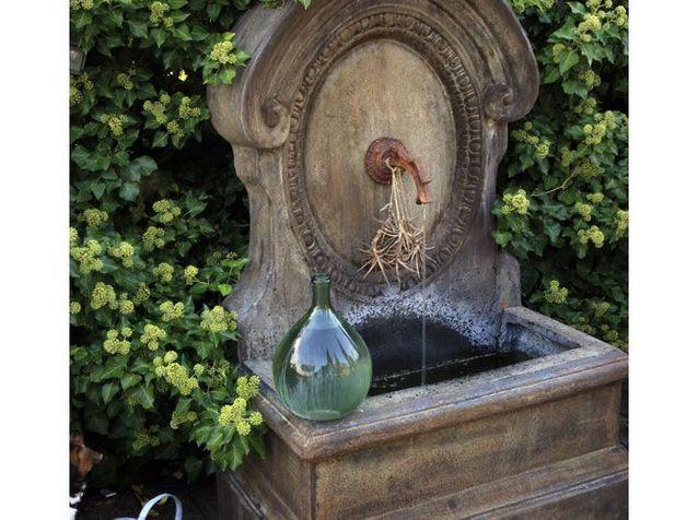 Fontaines : un coin de rêve au jardin