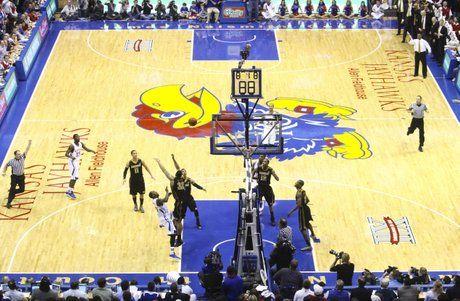 Best Floor In College Basketball Cavs Basketball Basketball Floor Kansas Basketball