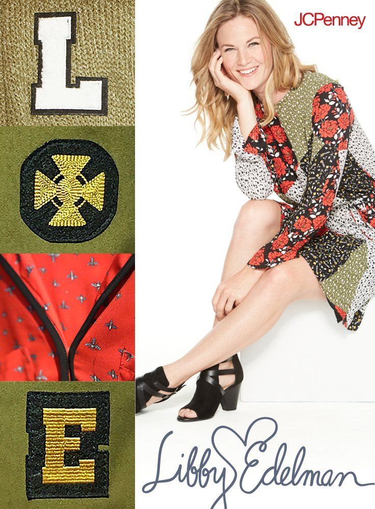 b930c51d4f783 Fall florals come together in this boho dress from the Libby Edelman  collection only at JCPenney