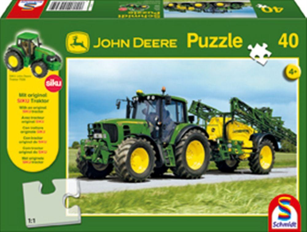 John Deere 40 piece puzzle .