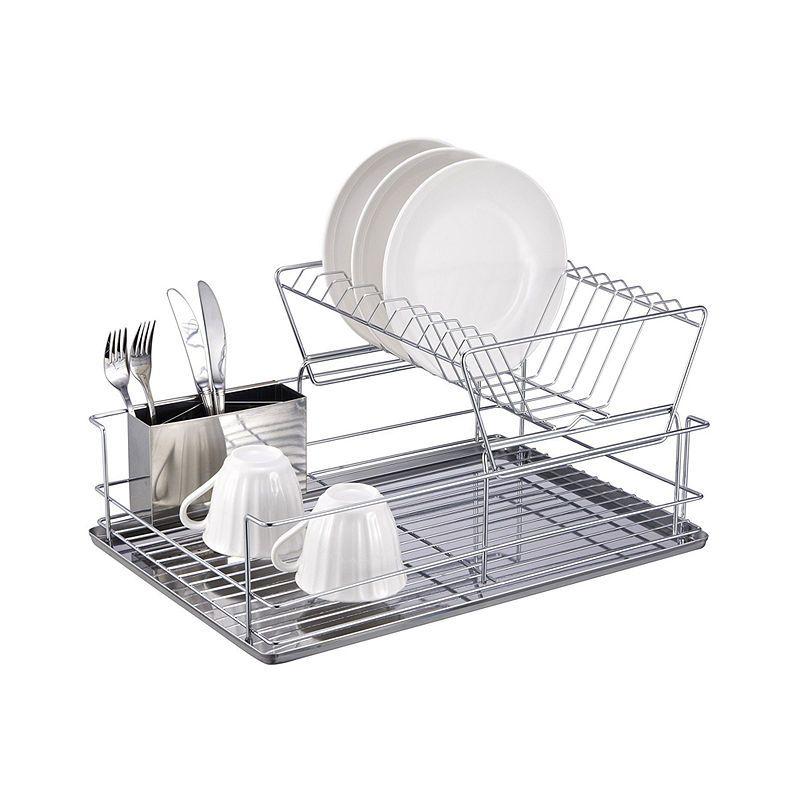 Better Chef 4 Piece 18 5 Dish Drying Rack Set Dish Rack Drying