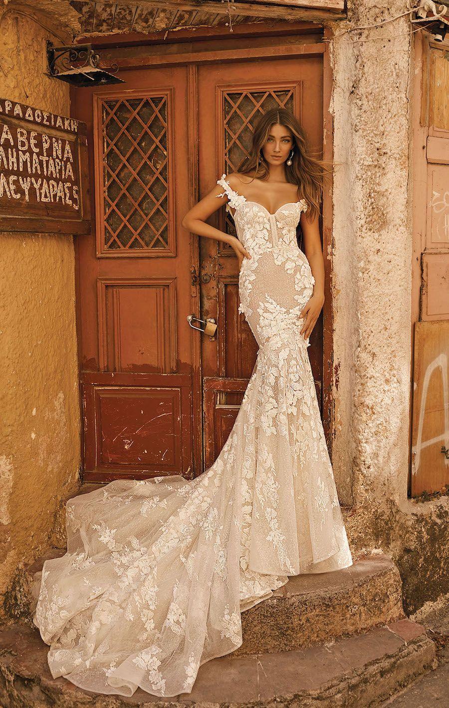 Berta Wedding Dresses - MODwedding #bertaweddingdress