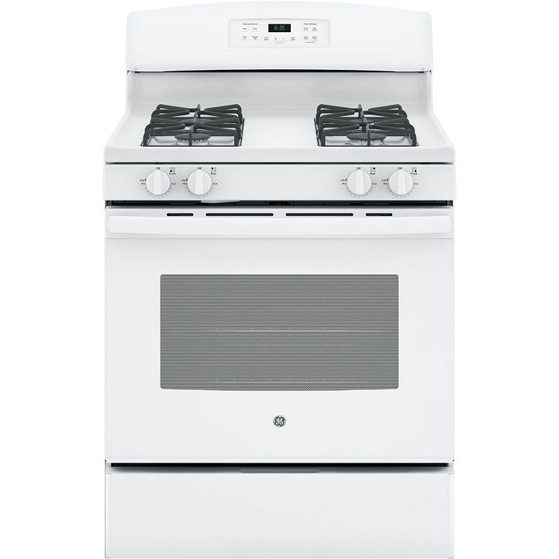 GE 5.0 Cu. Ft. Freestanding Gas Range JGB635DEKWW Gas