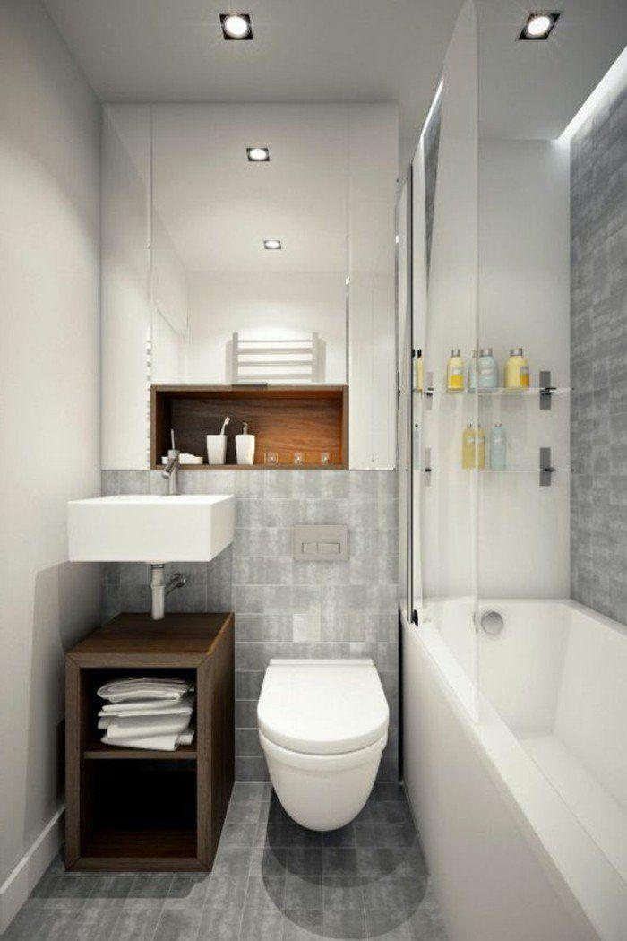 Comment aménager une salle de bain 4m2? Small bathroom