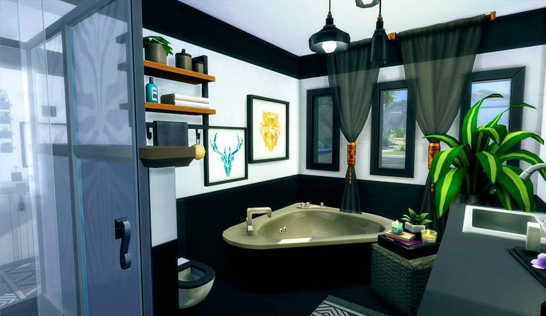 Small Luxury Bath Sims4houses Sims4builds Sims4 Bathroom Bathroomdesign Luxuryhomes Luxuryliving Small Luxury B In 2020 Luxury Homes Luxury Living Home Decor