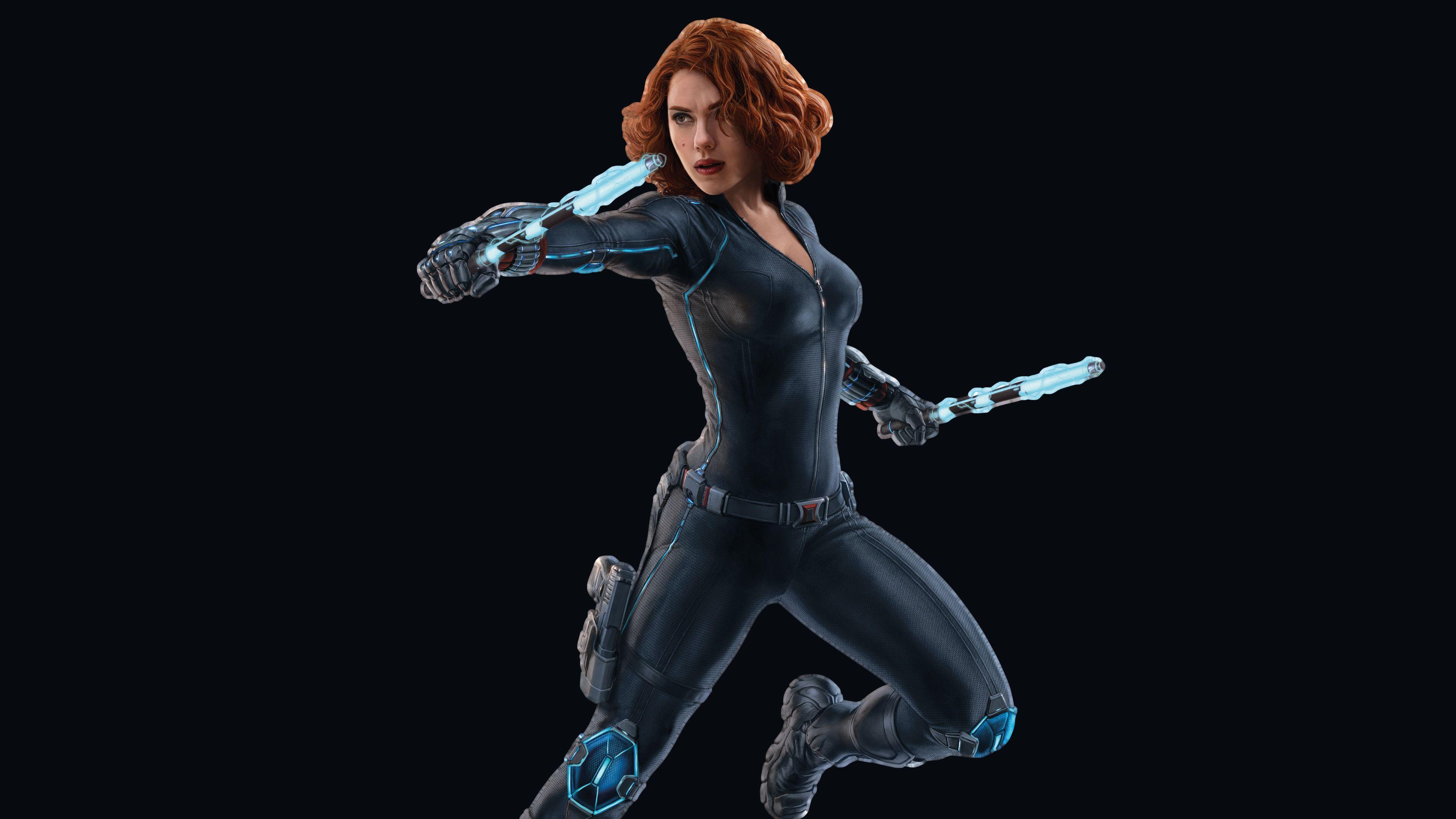 Scarlett Johansson Black Widow 4k 2018 Superheroes Wallpapers