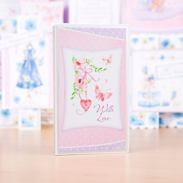 Debbi Moore Floral Boutique Cardmaking Kit Inserts And Decoupage