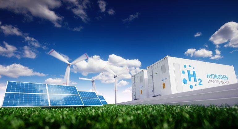 Bei Der Suche Nach Alternativen Zu Co2 Intensiven Fossilen Brennstoffen Besitzt Wasserstoff Ein Erhebliches Potenzial Sonnenenergie Brennstoffzelle Solaranlage