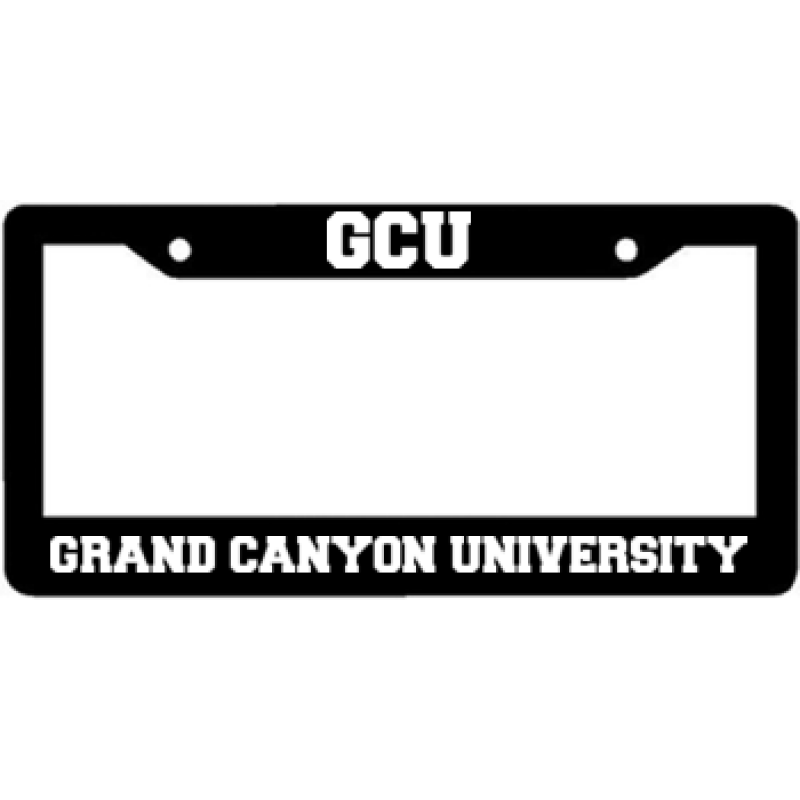 Grand Canyon University - License Plate Frame | Grand Canyon ...