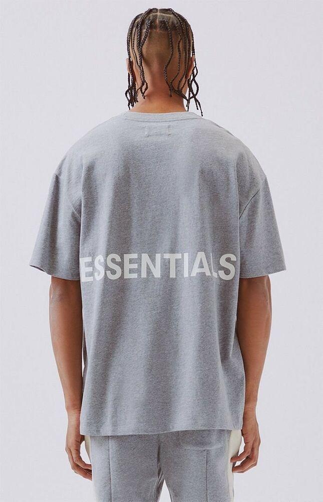 Nwt Fear Of God Fog Pacsun Essentials Boxy Graphic T Shirt Gray S Small Grey Ebay Shirt Design Inspiration Shirts Mens Tees Fashion