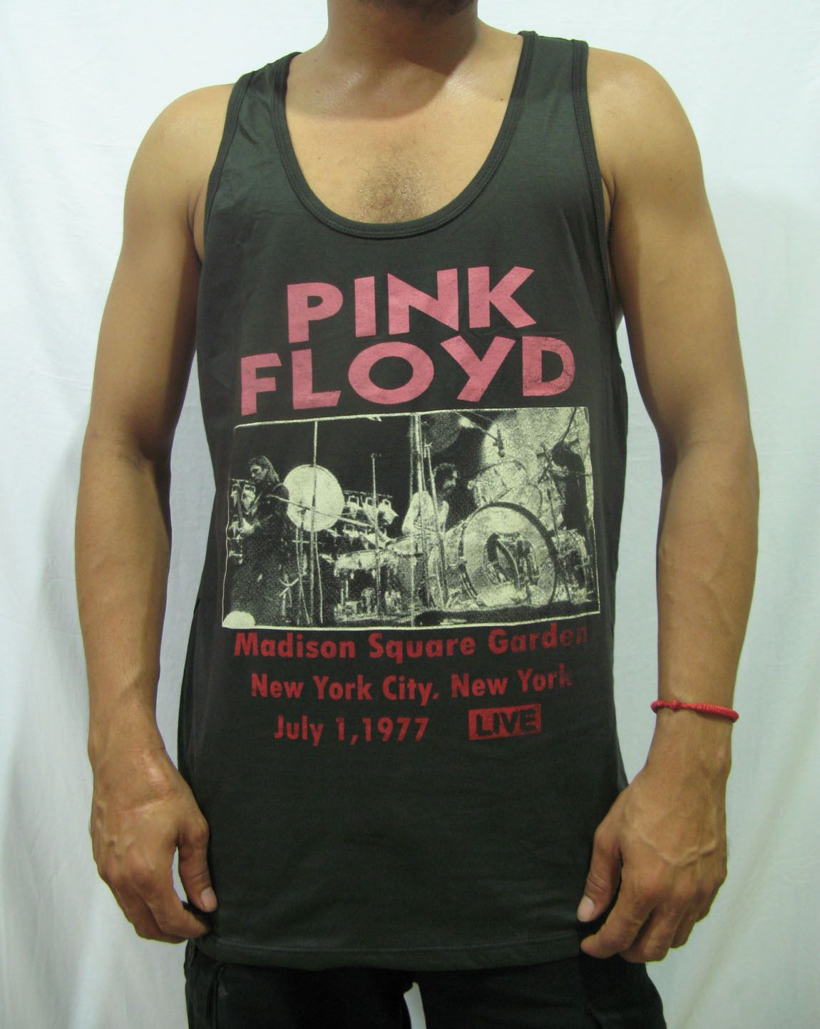 45ccf5923a5d20 Pink Floyd Madison Square Garden 1977 York Tour T-Shirt Tank Top Men Cotton