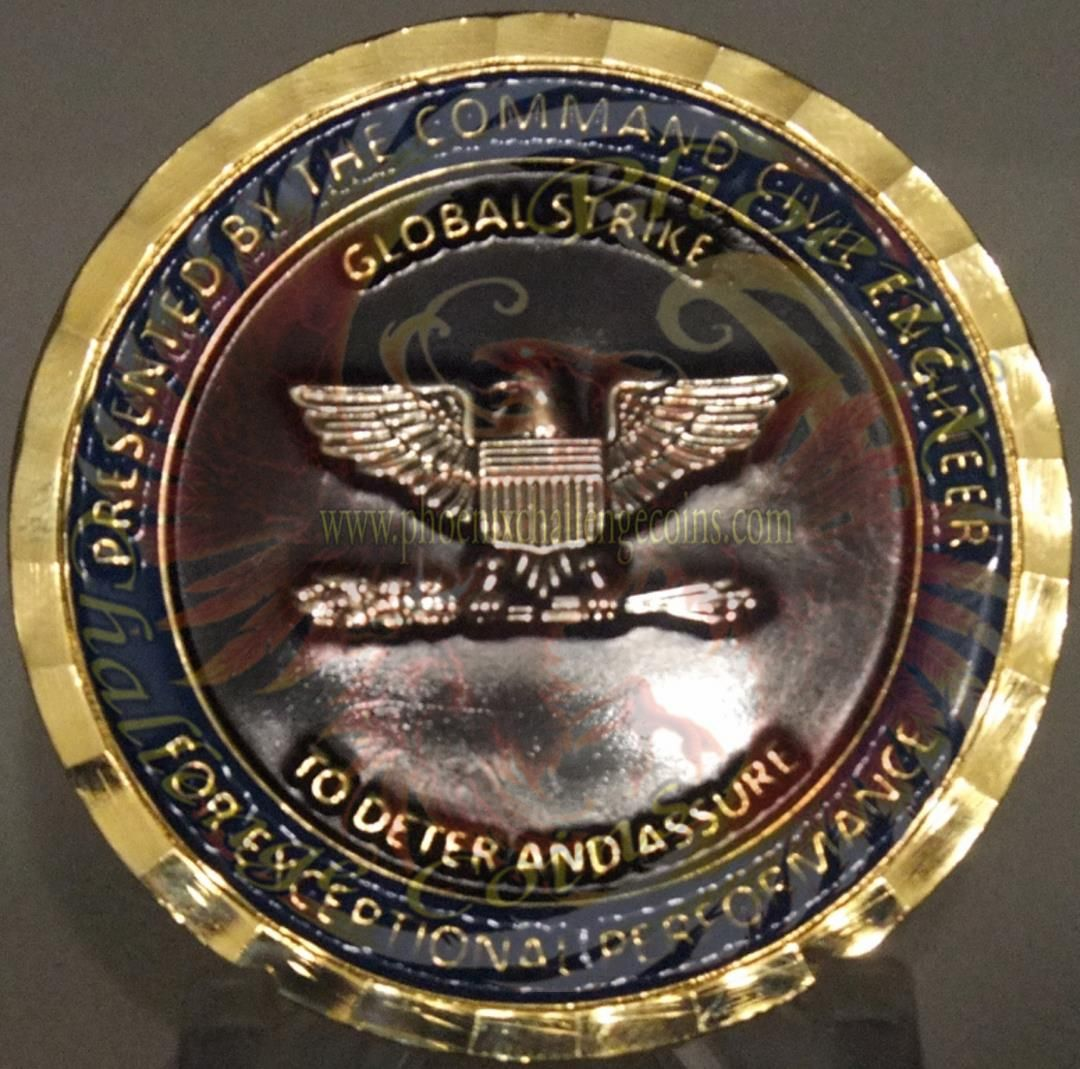 US Air Force Coin, Global Strike Command Chief Engineer