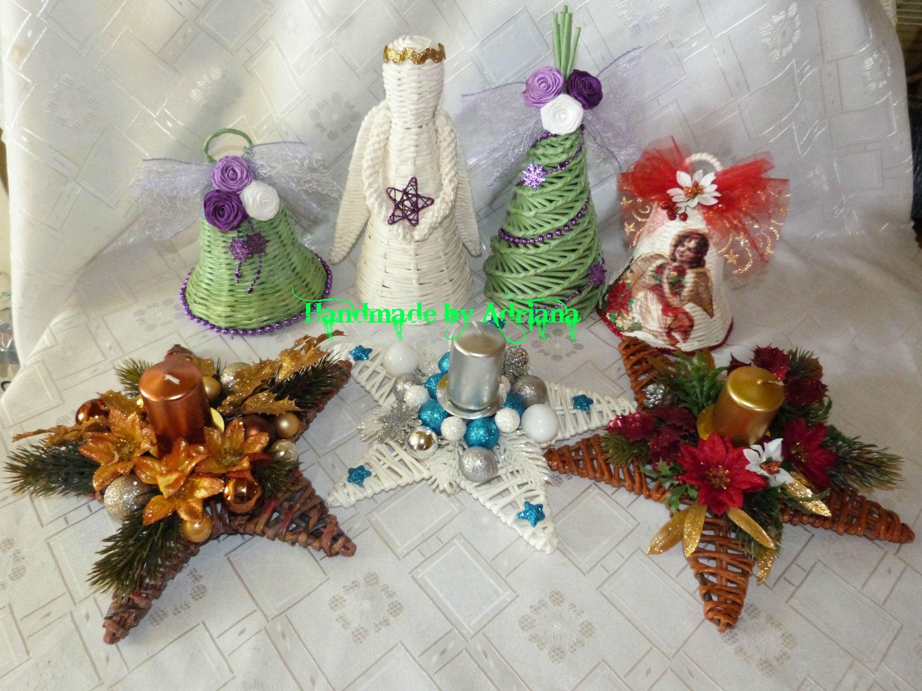 vianočne pletenie..