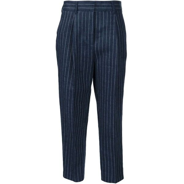 pin-stripe tailored trousers - Blue 3.1 Phillip Lim EgKv6j