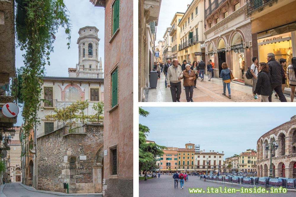 Verona Verona Venetien Historische Altstadt