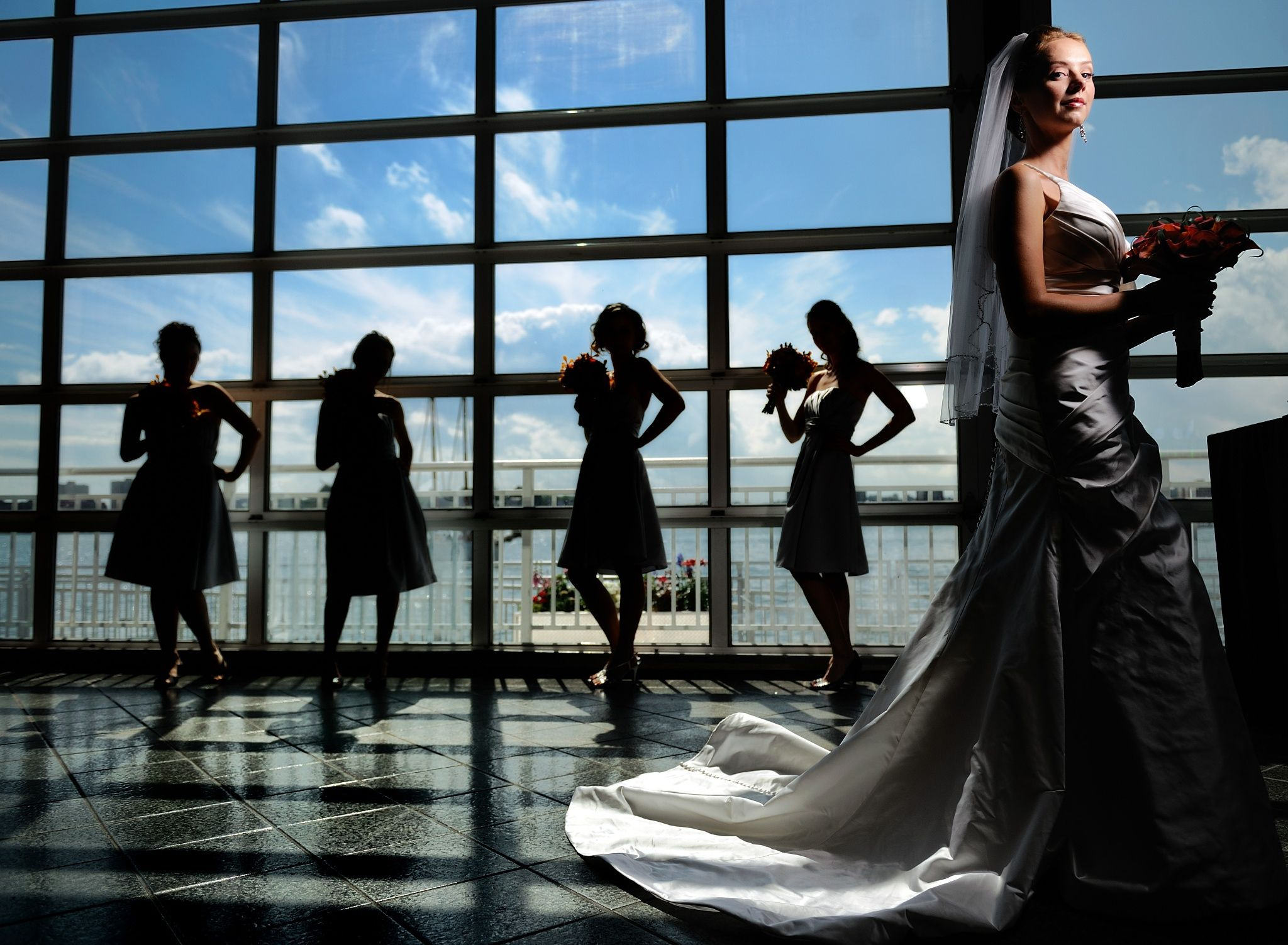 Ryan Brenizer photo of a bride and
