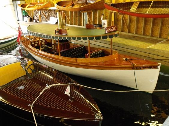 Steam Launch Nipissing at home--Muskoka Boat and Heritage Centre:
